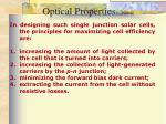 optical properties continued