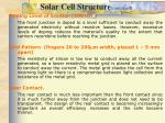solar cell structure continued2