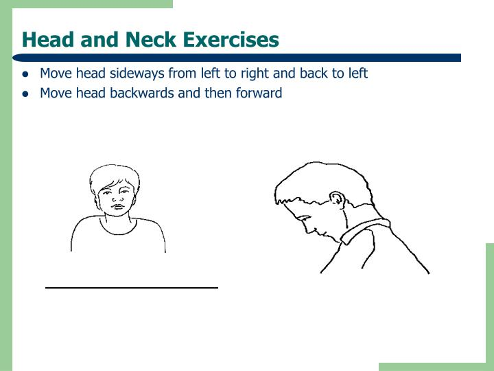 Head and Neck Exercises