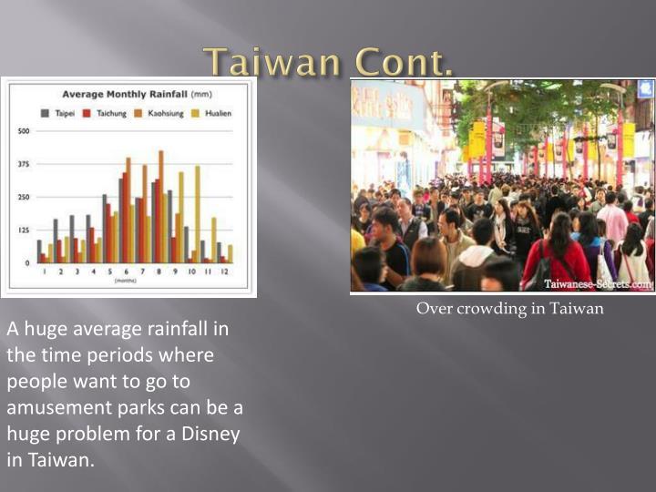 Taiwan Cont.