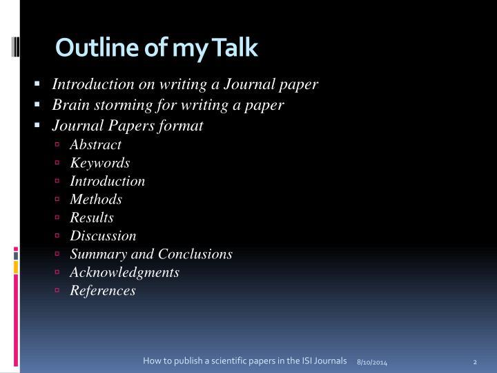 scientific paper conclusion