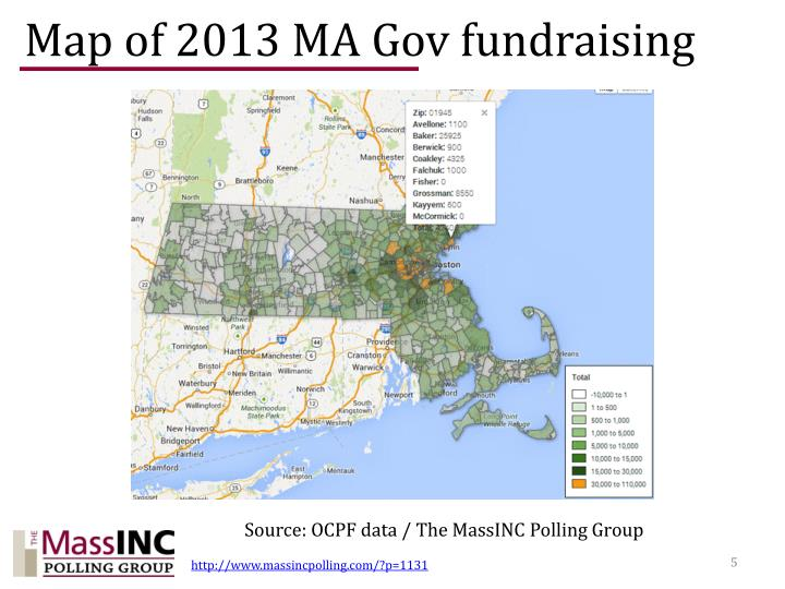Map of 2013 MA
