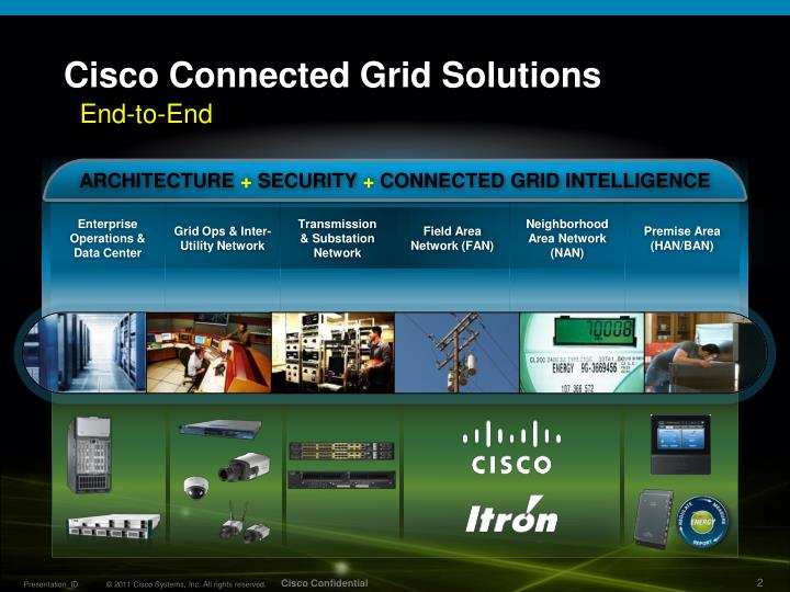 Cisco connected grid solutions