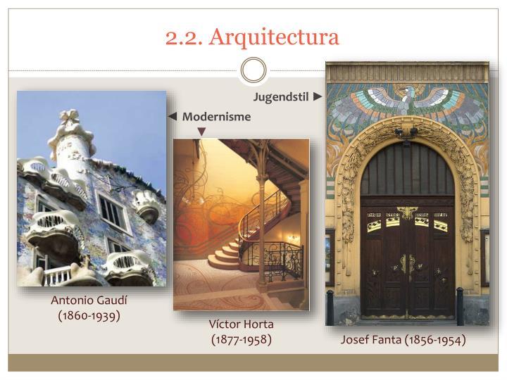 2.2. Arquitectura