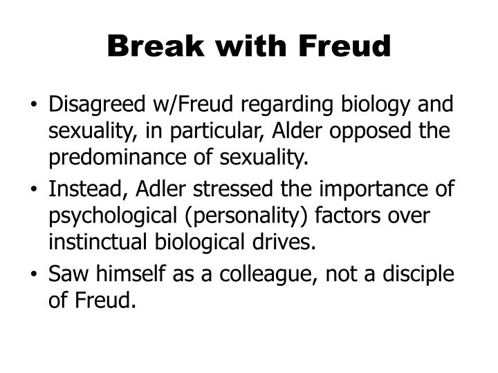 Break with Freud