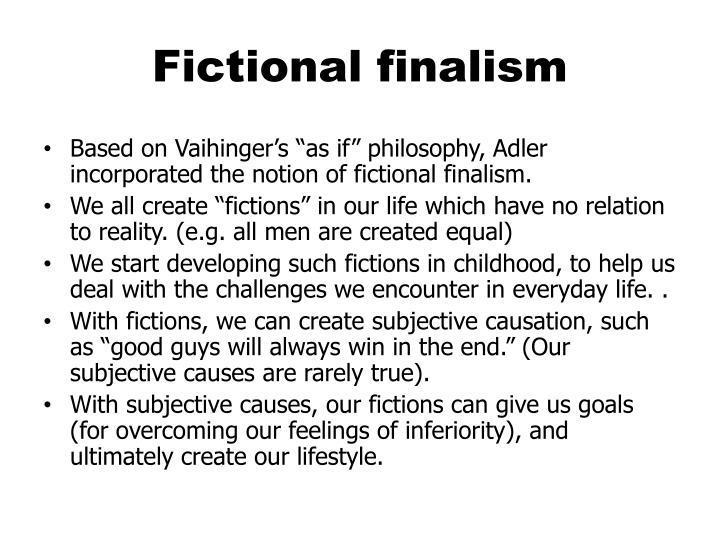 Fictional finalism