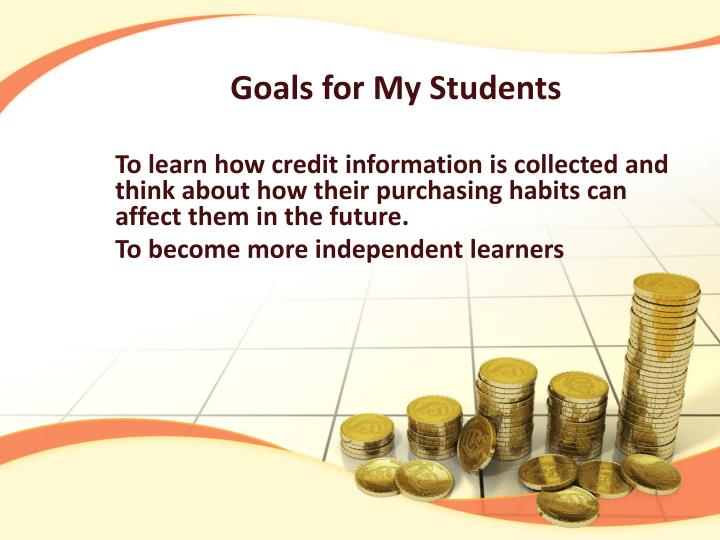 Goals for My Students