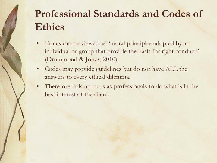 aca code of ethics paper Code of ethics comparison abstract this paper is a comparison between the codes of ethics of the american counseling association (aca) and the american association of christian counselors (aacc) this paper aims to present the similarities and differences between the two codes of ethics.