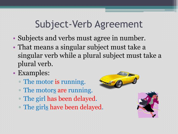 Ppt Subject Verb Agreement Powerpoint Presentation Id3114947