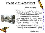poems with metaphors2