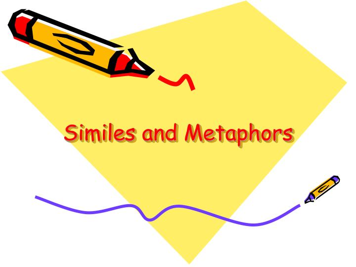 similes and metaphors n.