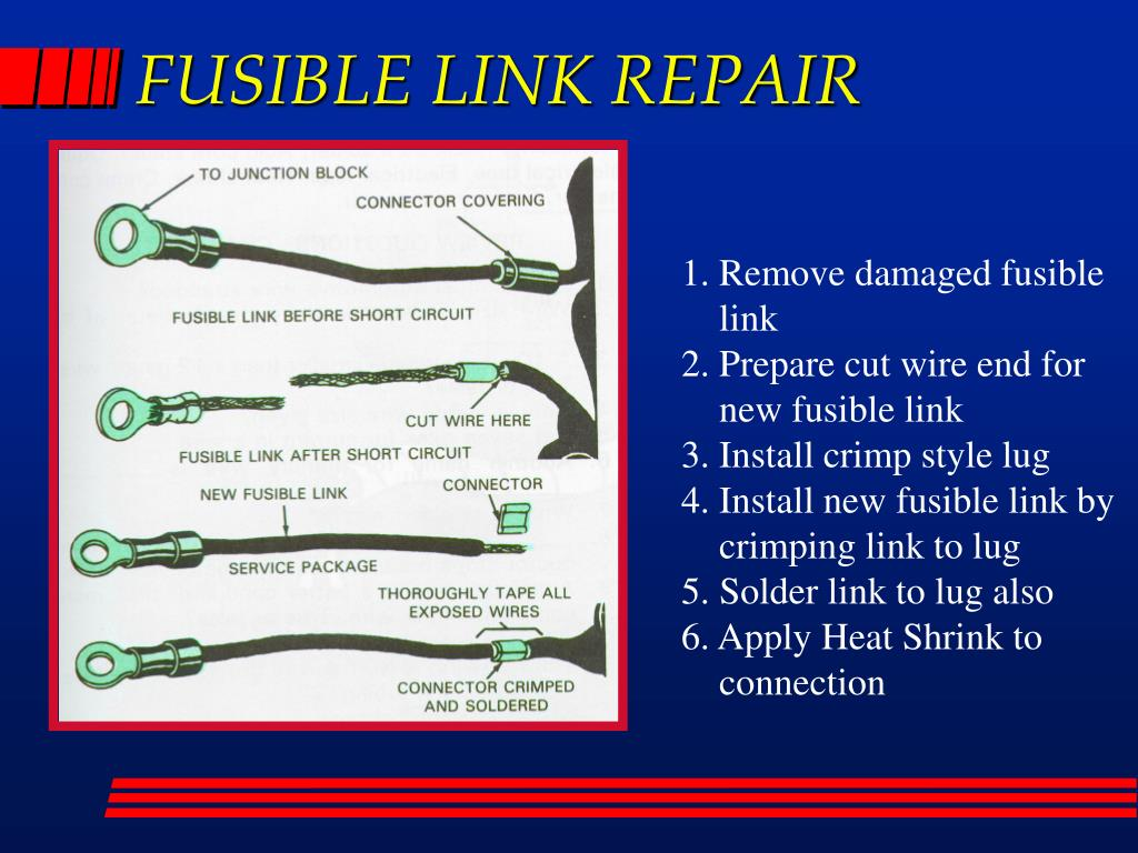 PPT - WIRE REPAIR PowerPoint Presentation - ID:3115159