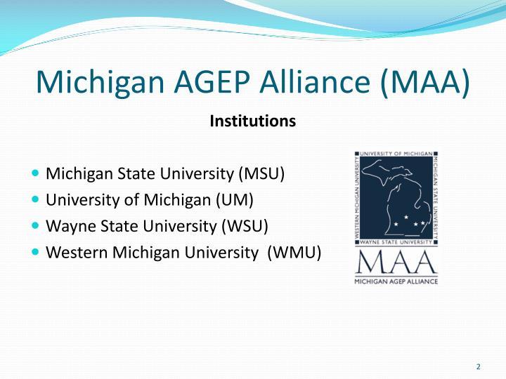 Michigan agep alliance maa