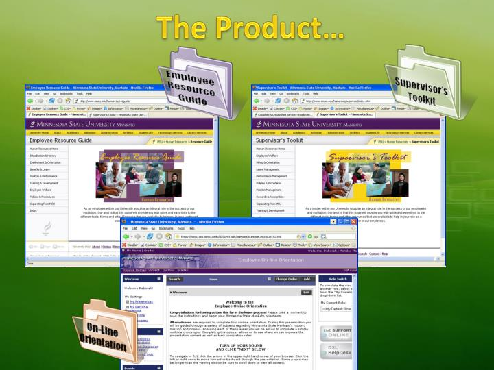 The Product…