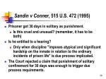 sandin v conner 515 u s 472 1995