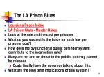 the la prison blues