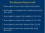 the shortest road to hell4