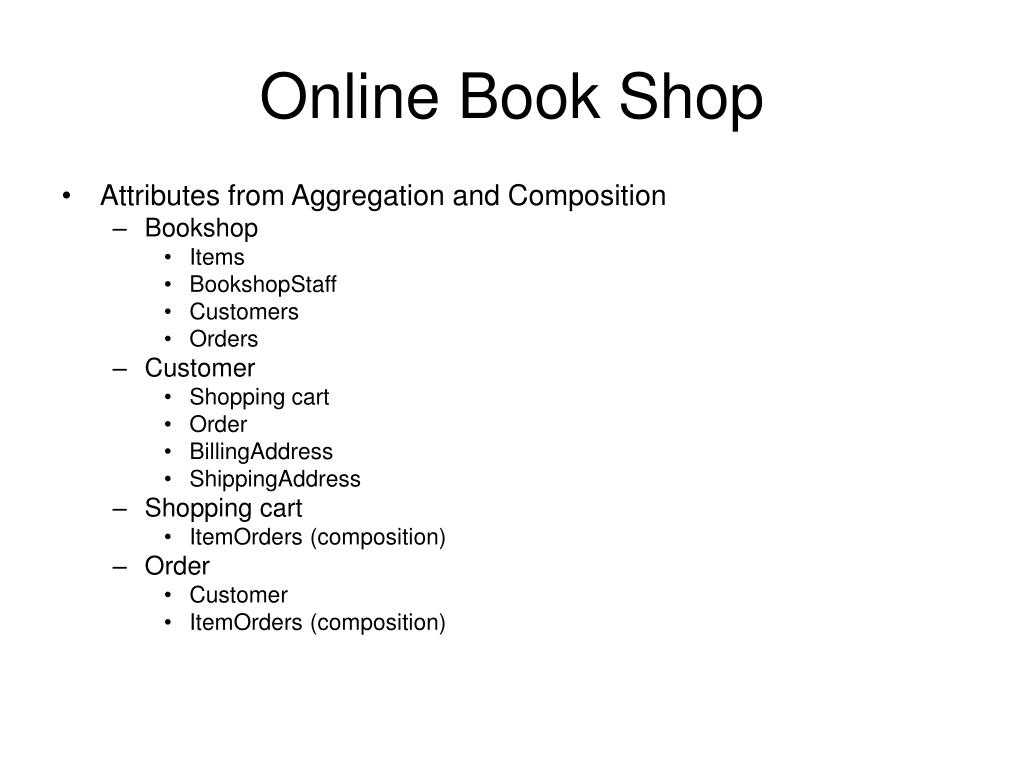 PPT - Online Book Shop PowerPoint Presentation - ID:3115990