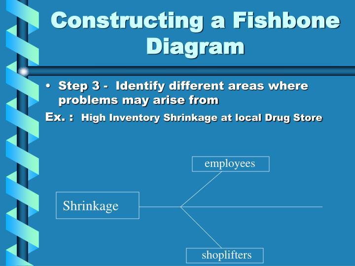 Constructing a Fishbone Diagram
