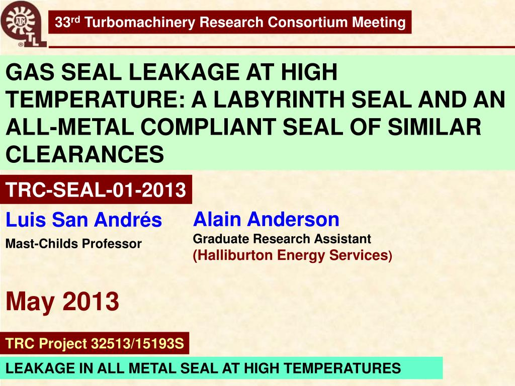 PPT - Alain Anderson Graduate Research Assistant