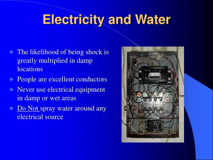 Electricity and Water