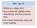 dad pg 13