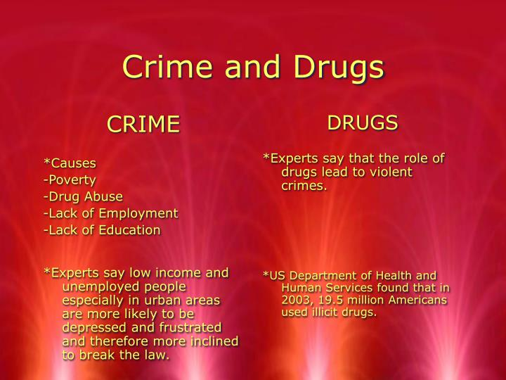 lack of education and crime