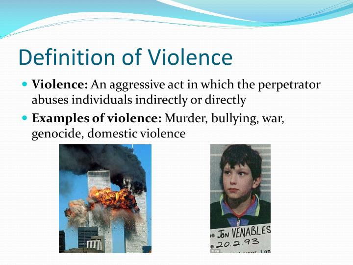 definition of violence Domestic violence domestic violence can take a number of forms, including physical, verbal, emotional, economic, religious, and sexual abuse, which can range from subtle, coercive forms to marital rape and to violent physical abuse such as female genital mutilation and acid throwing that results in disfigurement or death.