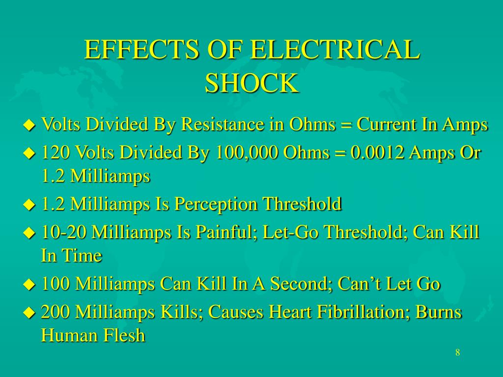 PPT - ELECTRICAL SAFETY PowerPoint Presentation - ID:3116373