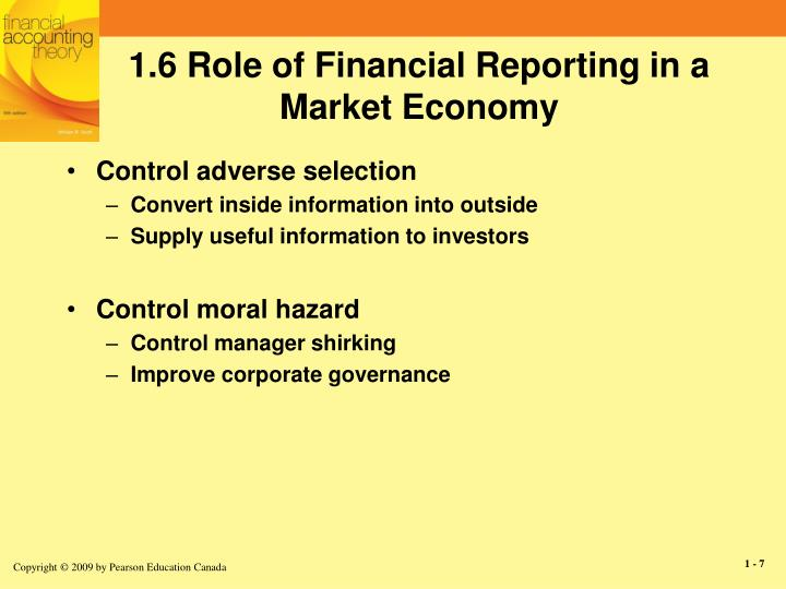 usefulness of financial reports