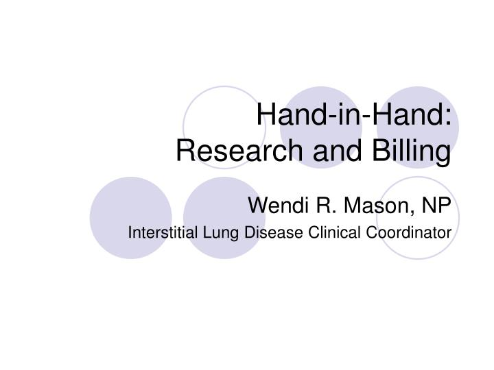 hand in hand research and billing n.
