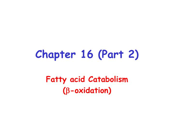 chapter 16 part 2 n.