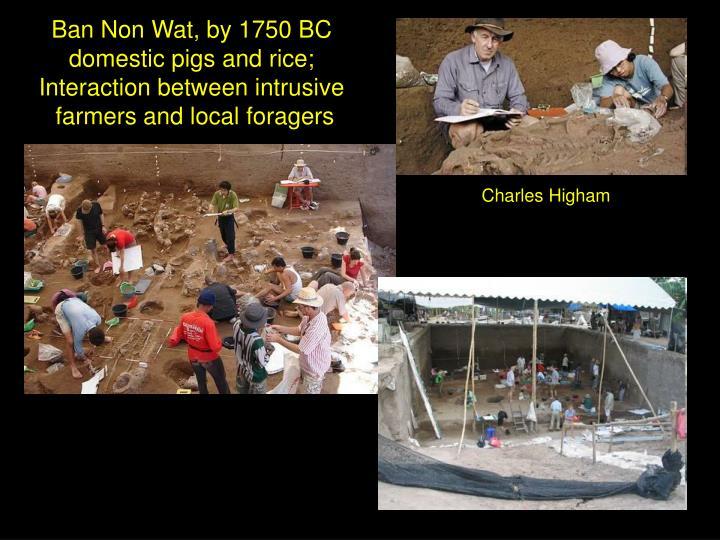 Ban Non Wat, by 1750 BC