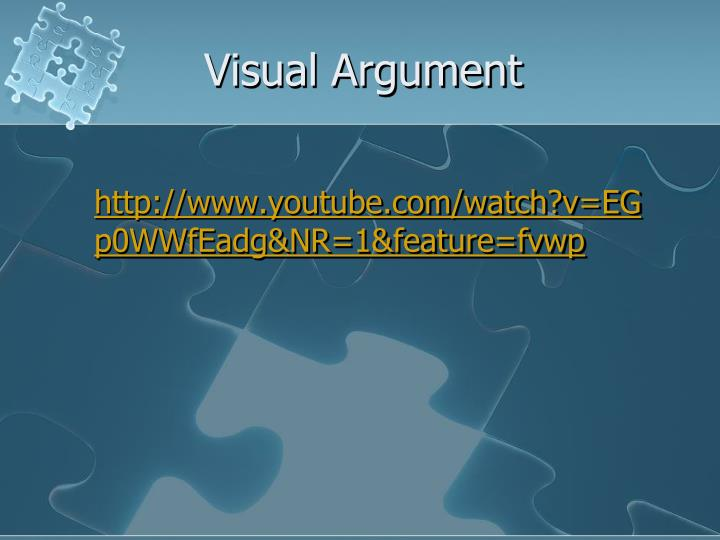 Visual Argument