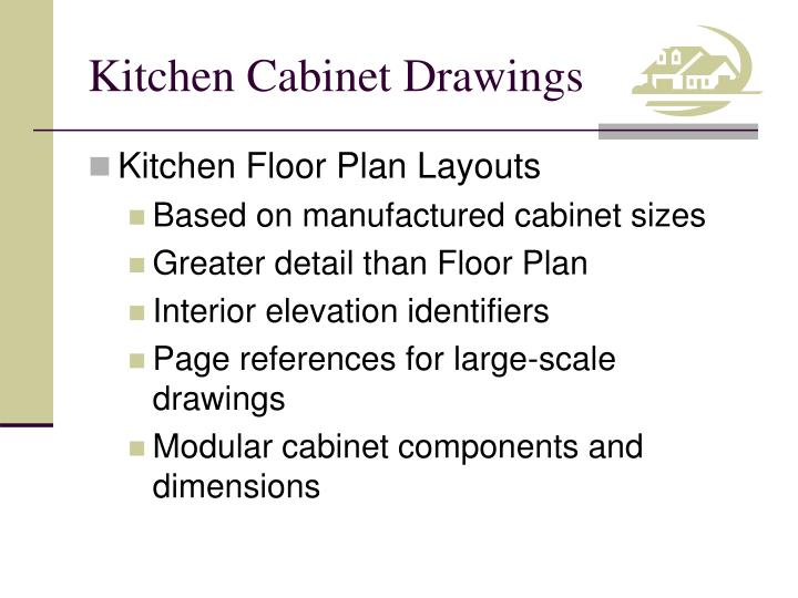 Kitchen cabinet drawings1