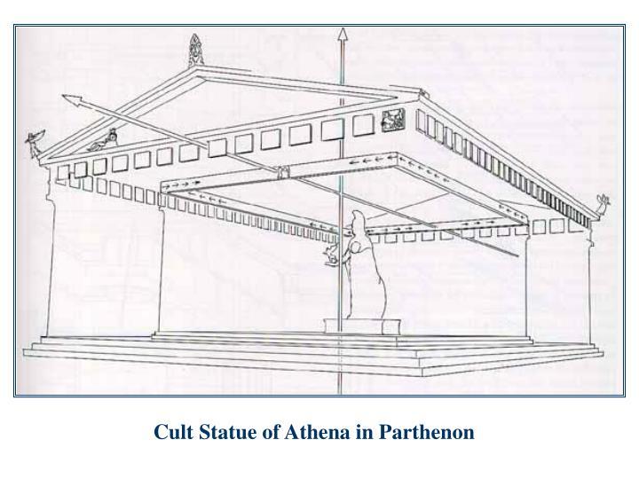 Cult Statue of Athena in Parthenon