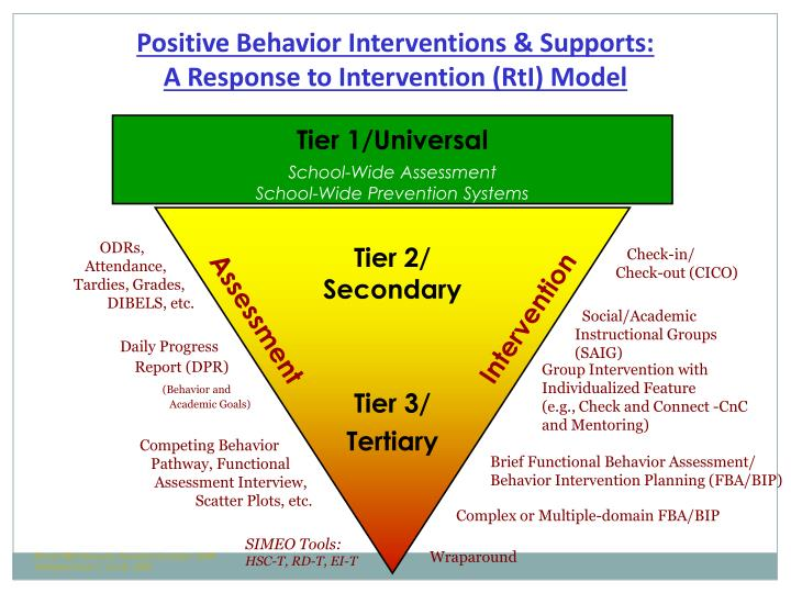 Positive Behavior Interventions & Supports: