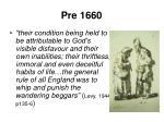 pre 1660