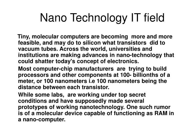 Nano Technology IT field
