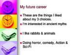 my future career1