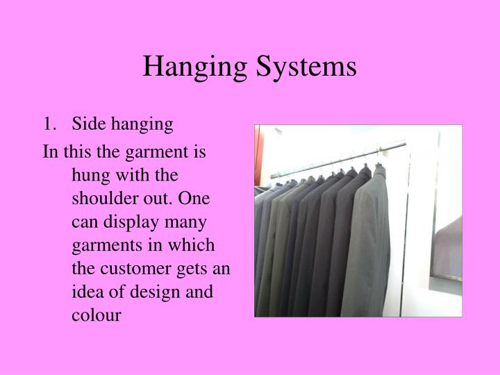 Hanging Systems