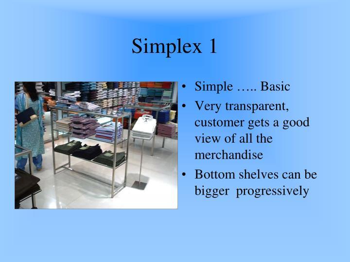 Simplex 1