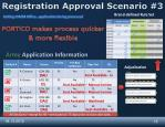 registration approval scenario 3