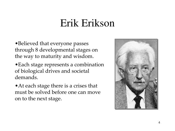 american beauty and erik erikson s developmental tasks Erik erikson (1902-1994) erik erikson was a german-born american developmental psychologist and psychoanalyst known for his theory on psychosocial development of human beings erikson's theory erikson believed that process of human development occurred throughout one's life span.
