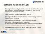 software ag and xbrl 3