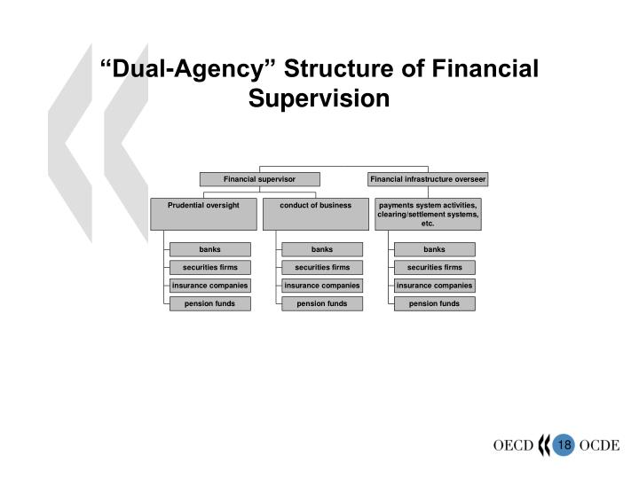 """Dual-Agency"" Structure of Financial Supervision"