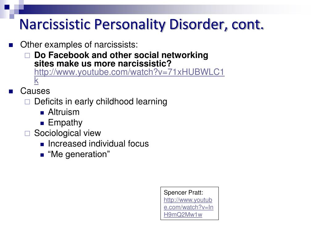 PPT - Personality Disorders PowerPoint Presentation - ID:3118804