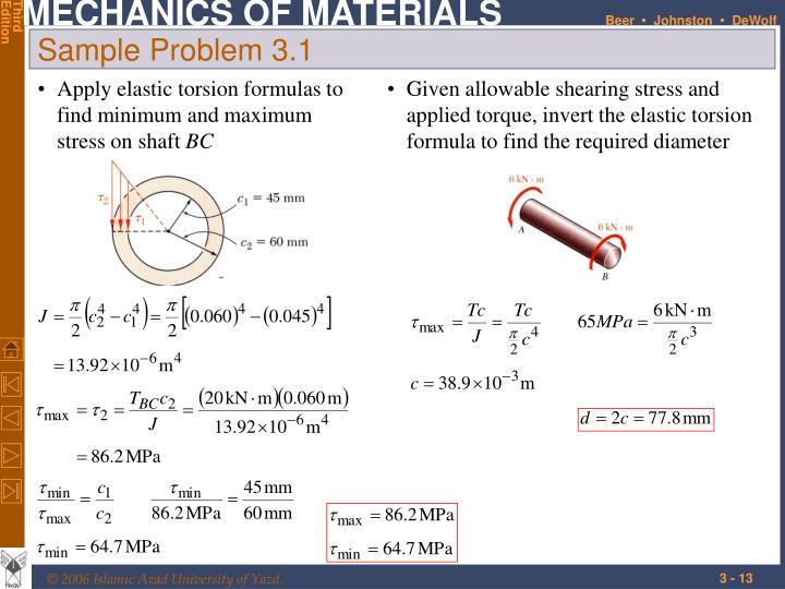 applied problem 3 1