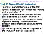text 15 flying blind 15 minutes