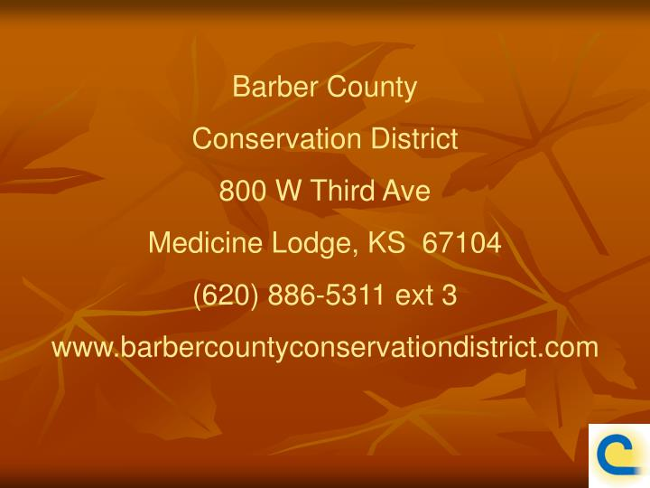 Barber County